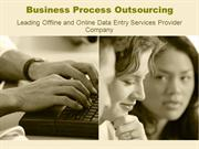 Leading BPO Outsoucing Projects provider Company