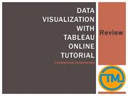 Data Visualization with Tableau Online Tutorial__Review