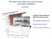 Business Information:key web resources, June 2016 (edited)
