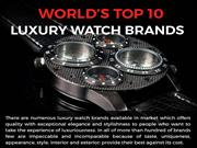 World's Top 10 Luxury Watch Brands
