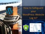 How to Safeguard your WordPress Website Log In - WordPress Utvikling S