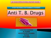 Anti TB Drugs