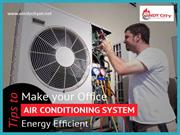 Energy Saving Tips for Air Conditioning Systems