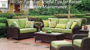 Wicker Paradise -Useful Tips for Rattan Furniture