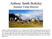 Anthony Smith Berkeley - Summer Camp Director