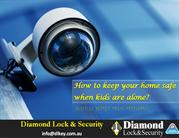 How to keep your home safe when kids are alone?