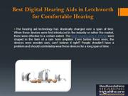 Best Digital Hearing Aids in Letchworth for Comfortable Hearing