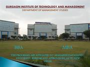 Management Institute in Gurgaon