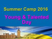 Summer Camp Young and Talented Day
