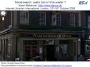 Social Search: useful tool or time waster [Archive]