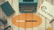 Content  syndicationservice