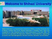 Shihezi University in China