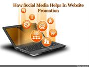 How Social Media Helps In Website Promotion