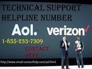 AOL MAIL Technical support helpline number 1-855-233-7309