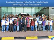 Purchasing Training Helps You To Gain In-Depth Knowledge