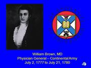 Meet Physician General William Brown MD v6