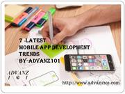 7 Latest Trend on Mobile App Development