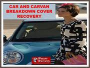 Car and Caravan Breakdown Cover Recovery