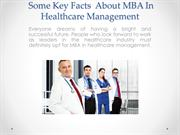You Should Know About MBA In Healthcare Management
