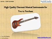 High Quality Discount Musical Instruments for You to Purchase