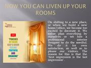 Now Increase Up Your Rooms With Fashionable Curtains And Valances