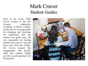 Mark Cruver - Student Guides
