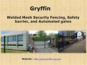 Welded Mesh Security Fencing, Automated Gates & Safety Barrier