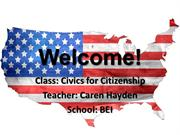 Civics Week 1 Update 7_14