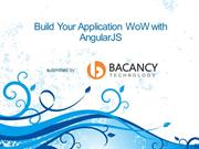 Build Your Application WoW with AngularJS