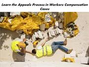 Learn the Appeals Process in Workers Compensation Cases
