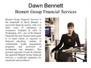 Dawn Bennett - Bennett Group Financial Services