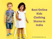 Famous Kids Wear Stores Online in India