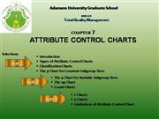 Attribute Control Chart