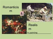 Romaticism vs. Realism unit presentation