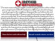 Best Watch Review Online by IReview Watches