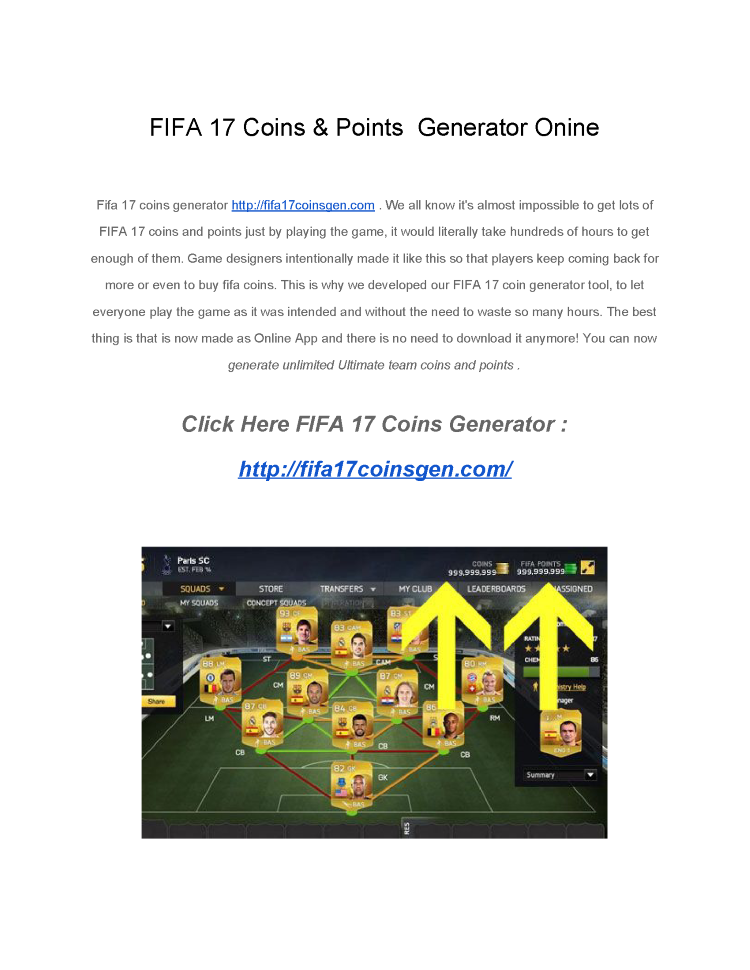 fifa 17 coins and points generator
