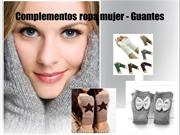 Complementos ropa mujer - Guantes