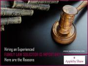 Benefits of Hiring Family Law Solicitor in Windsor