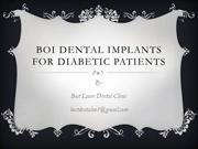 boi dental implants for diabetic patients