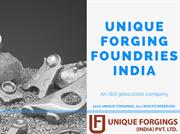 Unique Forging Foundries India