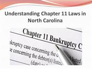 Understanding Chapter 11 Laws in North Carolina