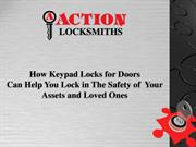 how keypad locks for doors can help you lock in the safety of your ass