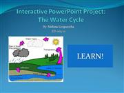 Interactive PP Project: The Water Cycle