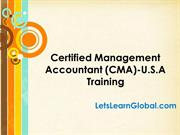 CMA USA Online Training in Hyderabad, CMA USA Online Training Classes,