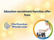 Franchise business in India with a low investment | the teacher world