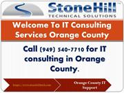IT Consulting Services Orange County