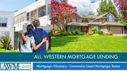 All Western Mortgage Lending's Mortgage Glossary