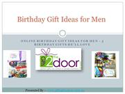 Unique Birthday Gift Ideas for Men - 5 Birthday Gifts He'll Love