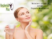 Organic and chemical free products - Replenish plus