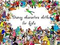 Disney characters clothes for kids